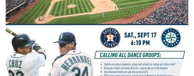 Take me out to the BALL GAME! Don't miss an amazing day of dance at the Mariners Game!! This event isn't just for InMotion dancers! Grab tickets for family, friends […]