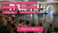 Join us for summer camps at InMotion! Prince/Princess & Nutcracker Camp: (Ages 3-8) Kids will spend each camp focusing on the fundamentals of ballet along with special ballet crafts, guest […]